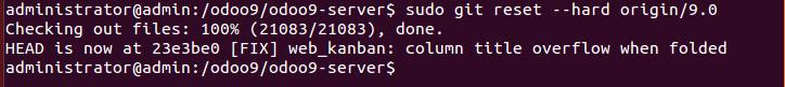 Github reset hard example